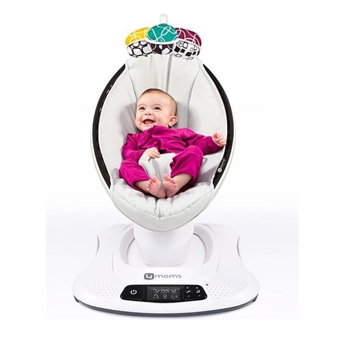 Elektrische Wipstoel Baby.Automatische Wipstoel Kopen Bestel De 4moms Mamaroo 4 Babytoko Nl