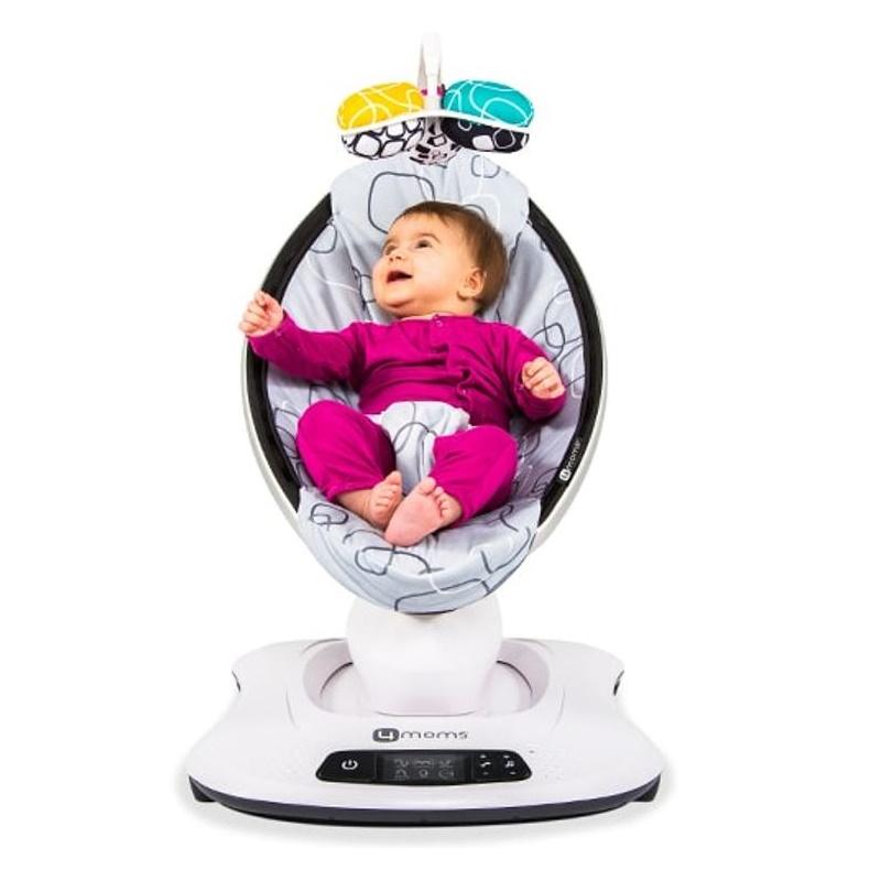 Automatische Wipstoel Baby.Elektrische Wipstoel Kopen Bestel De 4moms Mamaroo 4 Online