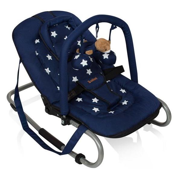 Automatische Wipstoel Baby.Blauwe Wipstoel Kopen Bestel De Baninni Blue Star Wipstoel Online