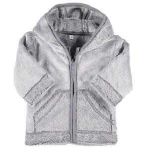 zeeman baby fleece jas grijs kopen