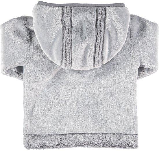 zeeman baby fleece winterjas grijs