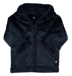 zeeman baby winterjas blauw fleece