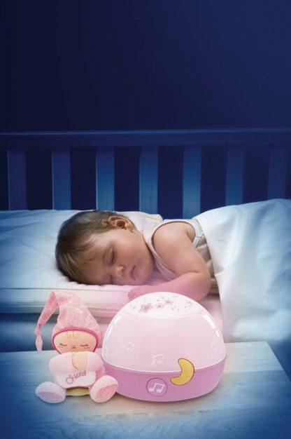 baby slaap projector