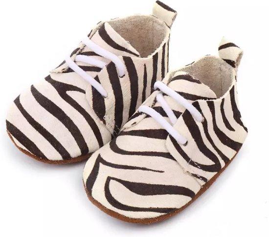 babyslofjes zebraprint