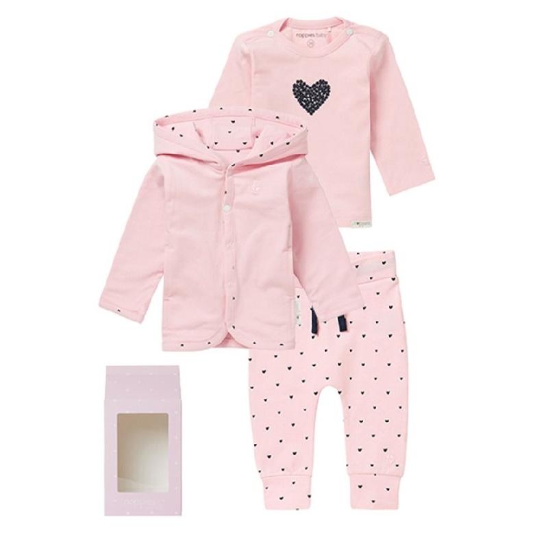 Babykleding Setjes.Noppies Babykleding Set Roze Babytoko Nl
