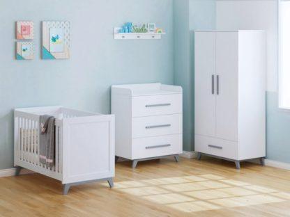 witte babykamer meubelen