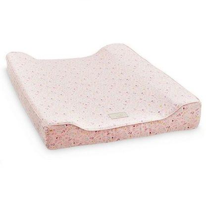 roze aankleedkussen