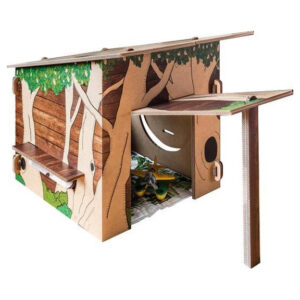 hut van karton
