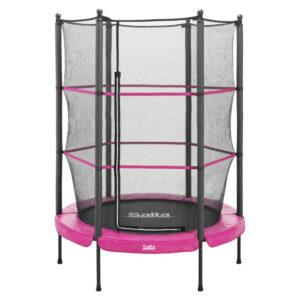 roze trampoline