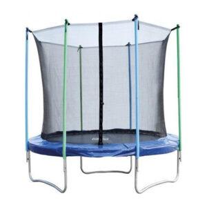trampoline blauw