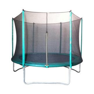 trampoline met vangnet