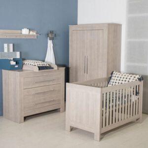 complete babykamer grijs