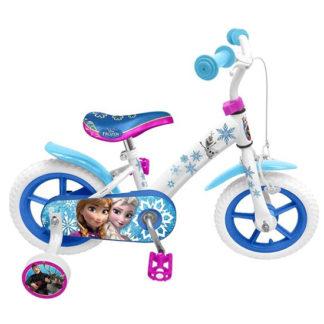 frozen fiets met zijwieltjes