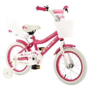 roze kinderfiets 14 inch