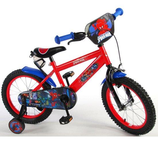spiderman fiets 16 inch