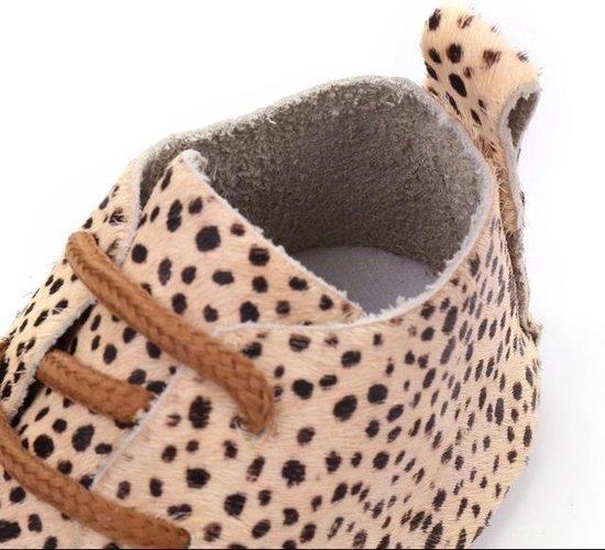 baby schoenen luipaardprint