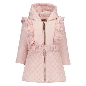 roze baby winterjas